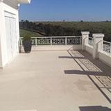 Serviço de impermeabilização de terraço